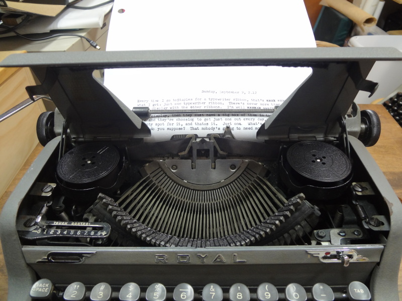 image of a typewriter ribbon