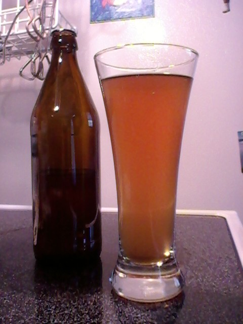 image of my latest batch of beer