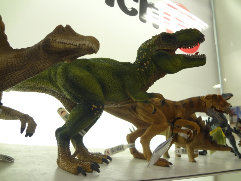 image of toy dinosaurs