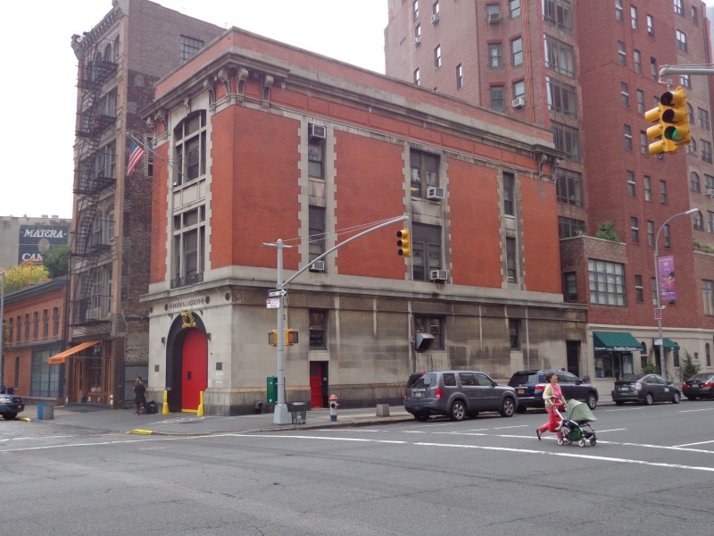 image of Ghostbusters firehouse